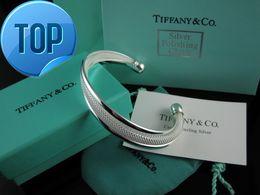 Imitation Red Coral Beads Australia - 2019 High Celebrity design Silverware bracelet Women Letter wristband Bracelets Jewelry With dust bag Box