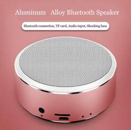 Discount speaker boxes - Portable A8 Bluetooth Speaker Support TF Cards Aux Stereo Wireless Sound Box Speaker Loudspeaker Game Mini Boombox For P
