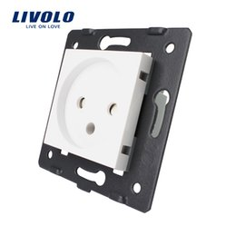 Standard Power Socket Australia - Livolo DIY Parts, EU Standard Israel Power Socket , AC 100~250V 16A Wall Power Socket, C7-C1IL-11,without the glass panel