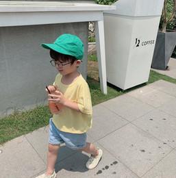$enCountryForm.capitalKeyWord NZ - 2019 best selling girls boys short sleeve t-shirt cotton summer kids top