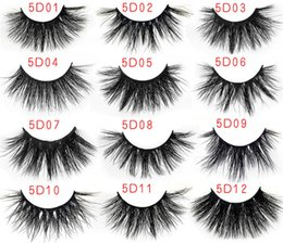 Wholesale Fashion D False Eyelashes D mm LongThick Fashion Lash Blink Black Full Strip Fake Lashes Makeup Tool