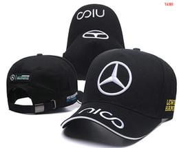ac6a721c772b6 hot Sale Mercedes Benz cap bone gorras Snapback Hat F1 Champion Racing  Sports AMG Automobile Trucker Men Adjustable Golf Cap Sun Hat 08