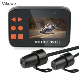 $enCountryForm.capitalKeyWord Australia - Vikewe 2.7 Inch 1080P DV188 Motorcycle DVR Dual Waterproof Lens Motorbike Action Sports Camera Video Recorder Night Vision car