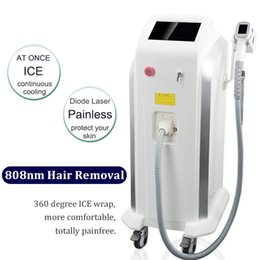 Wholesale bikini men resale online - professional nm diode laser hair removal permanent hair removal for men bikini laser Alexandrite depilation machines