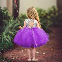 Sequin Party Dresses For Girls Australia - 2019 Baby Dress For Girls Sequins Tutu Birthday Party Wear Kids Clothes 1 2 3 4 5 Years Children Clothing Girl Ceremony Dresses J190611