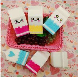 $enCountryForm.capitalKeyWord Australia - SMSNXY Kawaii Cute Soft Squishy Melkpak Milk Bag Toy Slow Rising For Children Adults Relieves Stress Anxiety Cabinet Decor