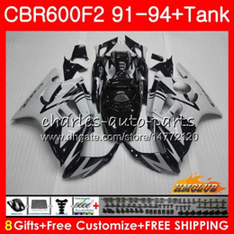 honda cbr fairings for sale Australia - Body+Tank For HONDA CBR 600F2 CBR 600 FS 1991 1992 1993 1994 40HC.57 CBR600FS 600CC CBR600 F2 CBR600F2 F2 91 92 93 94 Fairings new grey sale