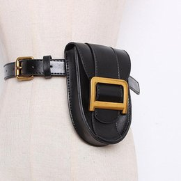 bum pack Australia - Waist Bag Women PU Leather Fashion Fanny Pack High Quality Mini Chest Belt Bags Ladies Travel Bum Packs Small Phone Bag Purse