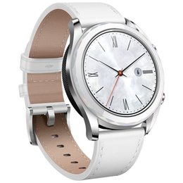Smart Watches Nfc Australia - Original Huawei Watch GT Smart Watch Support GPS NFC Heart Rate Monitor 5 ATM Waterproof Wristwatch 1.2 inch AMOLED Watch For Android iPhone