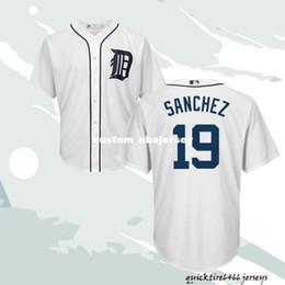 $enCountryForm.capitalKeyWord Australia - Cheap Custom Anibal Sanchez #19 White Cool Base Baseball jerseys Stitched Retro Mens jerseys Customize any name number XS-5XL