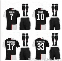 Wholesale top New Adult men maillot de foot ball kit kids men maillot foot Maillots de football soccer jersey