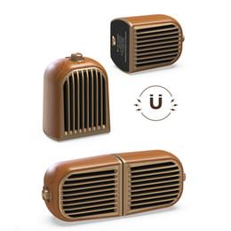 $enCountryForm.capitalKeyWord Australia - 2019 popular hot 1 pair Retro solid wood design Magnetic detachable Speaker Bluetooth 4.2 portable wooden portatil caixa de som computer PC