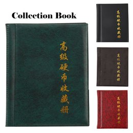 Coin Books Australia - 250 Pockets For Coins Collection Book Home Decoration 10 Pages Photo Album Holders Coin Holder Q190531