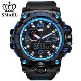 $enCountryForm.capitalKeyWord Australia - SMAEL Men's Top Brand Military Watch Luxury Resin Quartz LED Digital Watch Men's Casual Waterproof Sports Watch Men's Relogio Masculino