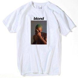 $enCountryForm.capitalKeyWord Australia - Fashion Ocean Blond Blocking face Print T Shirt Rap funny t shirts cotton white Short O-Neck loose men casual short sleeve