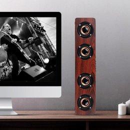 $enCountryForm.capitalKeyWord Australia - Wooden HIFI Bluetooth Speaker Loudspeakers Professhional Speaker Surround Music Player Wood Wireless Speaker For Phone Computer