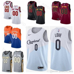a7066fcaf39 Printed Men Youth Women Cleveland Basketball Cavaliers Kevin Love Jersey 0  Clarkson 8 Collin Sexton 2 Cedi Osman 16 Tristan Thompson 13