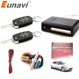 $enCountryForm.capitalKeyWord Australia - Eunavi Universal Car Auto Remote Central Control kit Keyless Entry System LED Keychain Central Door Lock Locking Vehicle