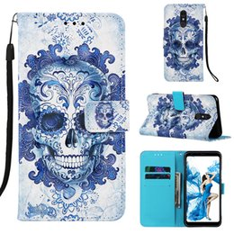 $enCountryForm.capitalKeyWord UK - 3D Embossed pattern Case For LG Stylo 5 Case Wallet Leather Flip Cover For LG Stylo 5 Phone Cover Fundas
