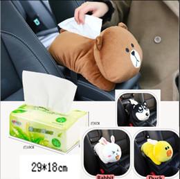 Tissue box holders online shopping - Animal Car Tissue Holder Back Hanging Tissue Box Covers Napkin Paper Towel Box Holder Case Paper Towel Holder LJJK1148