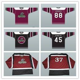 hockey player 2019 - Custom XS-5XL Leonardo Reapers Achmetha 45 Jeremoth 88 Street Hockey Jersey Stitch Sewn Any Player or Number Free Shippi