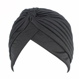 $enCountryForm.capitalKeyWord Australia - 2019 New Arrival Islamic Prayer Hats Scarves Wraps for Women Men Muslims Turban Bandanas Elastic Stretchy Solid Caps