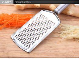 $enCountryForm.capitalKeyWord Australia - Stainless steel scraper ginger shredding board manual vegetable cutter potato shredded radish shredded cooking shredder