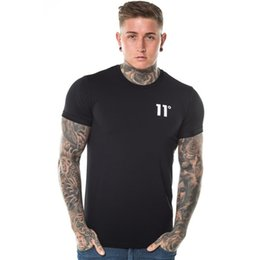 Sleeved gym ShirtS online shopping - gyms degrees mens round neck short sleeved slim jacket thin section solid color cotton print summer men s fitness t shirt men