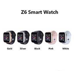 $enCountryForm.capitalKeyWord Australia - Z6 smartwatch for apple iphone Smart Watch Bluetooth 3.0 watches with camera Supports SIM TF Card for android smart phone PK DZ09 A1