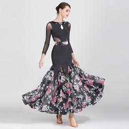 $enCountryForm.capitalKeyWord Australia - New Standard Dance Dresses For Women Adult Ballroom Dance Competition Dresses Ladies Ballroom Dress Rave Clothes DQS2178