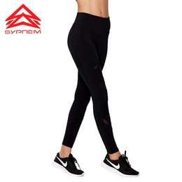 sexy black leggings girl NZ - SYPREM Yoga Pants women moto mesh yoga black leggings high elastic new sexy girls pants leggings,YK80128