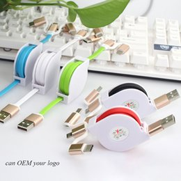 Usb Data Charging Cable Iphone Australia - 1m data USB cable 3 in 1 universal 2.4A fast charging cable for iPhone & samsung & Android