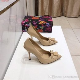 sexy nude womens dress UK - Womens early spring sexy super high heel sandals Matte leather low-cut stiletto high-heeled Business dress shoes,Matching Packing