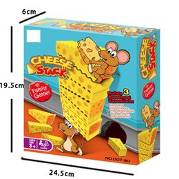 Jenga Games Australia - Crazy Mouse Cake Jenga Cheese Stack Cake Tower Falling Toy Children's Puzzle Board Game the Best Gift for Kid