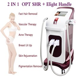 Lift Machine Fast Australia - Laser hair removal machines professional shr machine OPT SHR Handle laser fast hair remove two years warranty