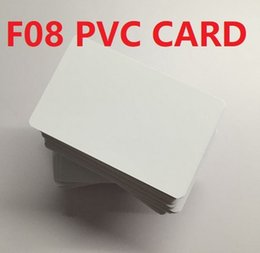 Ic Smart Reader NZ - On Sale! 400pcs lot Compatible s50( fudan f08) IC Card 13.56mhz RFID Card For Access Control For ISO14443A Reader White Blank Or Printing
