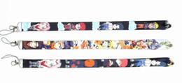 $enCountryForm.capitalKeyWord UK - Anime Naruto Keychain Lanyard For Mobile Phone Neck Straps Keychain Necklace ID Card Badge Holder Neck Straps