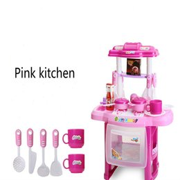 $enCountryForm.capitalKeyWord NZ - Children's play house toys kitchen beauty cooking tableware table light music simulation kitchenware girl educational toys