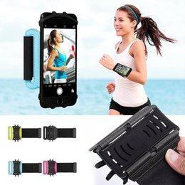 Quick Release Fasteners Australia - Protective Case Sports Bag Running Wrist Strap band for Mobile Phone Universal rotatable adjustable quick-release fastener