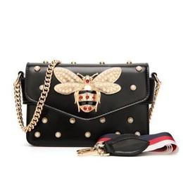 4c8fe81f940 Hot Sale Women Messenger Bags Women Pu Leather Green Fashion Bee Flap Bags  Teenage Girl Top Handle Handbag Female Crossbody Bags Y18102304