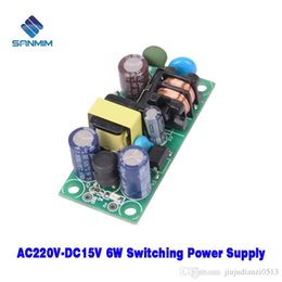 Wholesale Usb Audio Board Australia - 220V To 15V 6W Isolated switching power supply Power supply module board PLG06A X7756