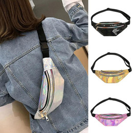 $enCountryForm.capitalKeyWord Australia - New Style Women Waist Bag Fanny Pack Holiday Money Belt Wallet Mini Bum Travel Bag Pouch Fashion Laser Crossbody Bags