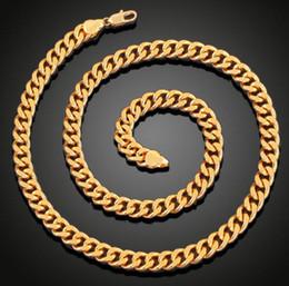 Cuban Chain 7mm Australia - 14K SOLID YELLOW GOLD PLATED CUBAN DIAMOND CUT CHAIN FOR MEN WOMEN 7mm 24'