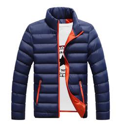 Mens Parka Leather Australia - Winter jackets mens thicken wadded leather Coat Jaqueta Masculina winter jacket men stand Collar windbreaker Parka Coats J4