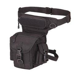 Тактический Drop Leg Bag 1000D Нейлоновые Талии Пакеты Военные Бедро Пакеты Сумки для инструментов для Мотоциклов Открытый Велосипед Велоспорт # 159043 на Распродаже
