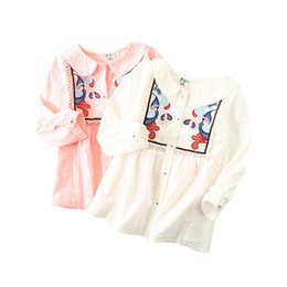 $enCountryForm.capitalKeyWord Canada - Kids Girl Shirt Children Lattice Shirt Flower Butterfly Hollow Out Embroidery Lace Doll Collar Long Sleeve Button Closure 6