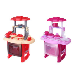 $enCountryForm.capitalKeyWord Australia - Kitchen Cooking Pretend Role Play Toy Set With Sound Pre-School Learning Kids Children Gifts