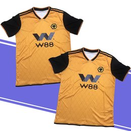 Jerseys Wolf Australia - 19 20 New Thiland ADULT HOME SHIRT Wolverhampton Wanderers 19 20 Top Quality Soccer Jerseys Diogo Jota Leo Costa WOLVES FC Football Shirt