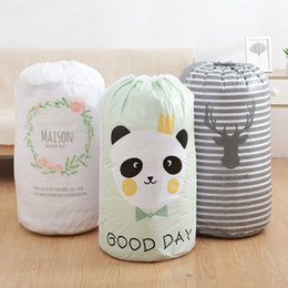 $enCountryForm.capitalKeyWord Australia - Moisture-proof Bundle Clothing Storage Bag Waterproof Quilt Bag Large-sized Clothes Sorting Storaging Bag Closet Organizer Pouch EEA270