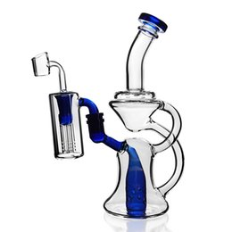 $enCountryForm.capitalKeyWord Australia - Glass Water Bongs Recycler Bubbler Dab Rigs Percolater Dab Rig with Banger Glass Bong Water Pipe 14mm Joint Ash Catcher